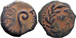 Ancient Coins - JUDAEA, Procurators. Pontius Pilate. 26-36 CE. NZ date very rare variety !!!