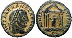 Ancient Coins - Alexander of Carthage. Usurper, AD 308-310.