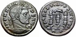 Ancient Coins - Maximinus II Daia, Rome, 312-313 AD.