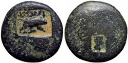 Ancient Coins - JUDAEA, Legionary countermarks.