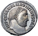 Ancient Coins - Maximinus II. AD 310-313. some silvering .