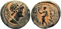 Ancient Coins - PHOENICIA, Marathos.  Ptolemy VI, 199/8-169/8 BC.