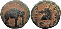 Ancient Coins - SELEUKID EMPIRE. Seleukos I Nikator. 312-281 BC. Rarly seen !!!