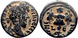 Ancient Coins - Egypt, Alexandria, Lucius Verus. AD 161-169. BI Tetradrachm, Armenia capta .