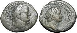 Ancient Coins - EGYPT, Alexandria. Vespasian, with Titus as Caesar. AD 69-79.
