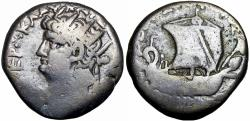 Ancient Coins - EGYPT, Alexandria. Nero. AD 54-68.