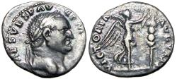 "Ancient Coins - Vespasian. AD 69-79.  ""Judaea Capta"" commemorative."