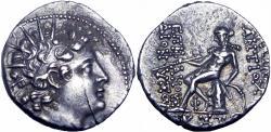 Ancient Coins - SELEUKID KINGS of SYRIA. Antiochos VI Dionysos. 144-142 BC.