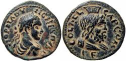 Ancient Coins - JUDAEA, Aelia Capitolina (Jerusalem). Elagabalus. 218-222 CE. Stunning details for the type !!