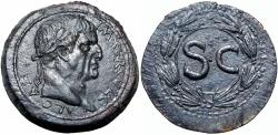 Ancient Coins - Galba  of Antioch, Seleucis and Pieria. AD 68-69. Stunning large flan and details.