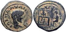 Ancient Coins - Biblical, ARABIA, Charachmoba. Elagabalus. AD 218-222.