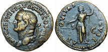 Ancient Coins - VESPASIAN. 69-79 AD. Æ As , Stunning details !!!