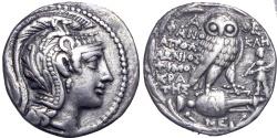 Ancient Coins - ATTICA, ATHENS. CIRCA 165-42 BC.