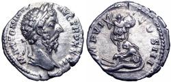 Ancient Coins - MARCUS AURELIUS. 161-180 AD. Germany Capta.