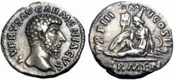 Ancient Coins - Lucius Verus. AD 161-169. Armenia capta.