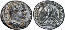 Ancient Coins - Caracalla Tetradrachm of Tyre, Phoenicia. AD 213-217.