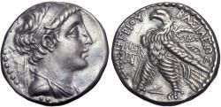 Ancient Coins - SELEUKID KINGS OF SYRIA. Demetrios II Nikator, first reign, 146-138 BC.