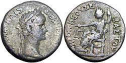 Ancient Coins - EGYPT, Alexandria. Nero. AD 54-68. BI Tetradrachm , Rare.