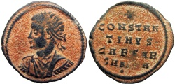 Ancient Coins - Constantine II. As Caesar, AD 316-337.