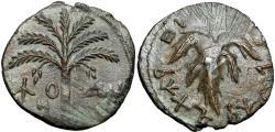 Ancient Coins - JUDAEA, Bar Kochba Revolt. 132-135 CE.