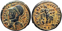 Ancient Coins - Maxentius. AD 307-312.  Rome mint, rarely seen !!!