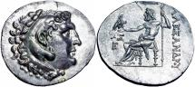 Ancient Coins - Kingdom of Macedon. Alexander III 'the Great' . Aspendos, circa 300-250 BC.  stunning Mint State.