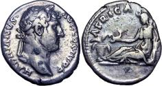 Ancient Coins - Hadrian augustus, 117 – 138, visit to Africa.