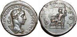 Ancient Coins - Egypt. Alexandria. Severus Alexander AD 222-235.