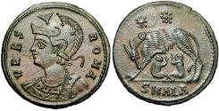 Ancient Coins - Commemorative Series. AD 330-354. stunning example with rich large flan.