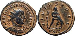 Ancient Coins - Constantius Chlorus caesar, 293 – 305 A.D. , Rare.