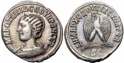 Ancient Coins - SYRIA, Seleucis and Pieria. Antioch. Otacilia Severa, wife of Philip I.Rare !!