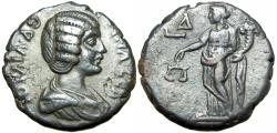 Ancient Coins - EGYPT. Alexandria. Julia Domna (AD 193-217).