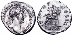 Ancient Coins - HADRIAN. 117-138 AD. superb metal and portrait !!!!