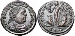 Ancient Coins - Licinius I. AE Follis. 321-324 AD. Heraclea mint.