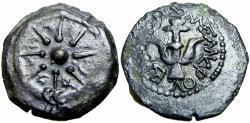 Ancient Coins - Judaean, Alexander Jannaeus, 103 -76 B.C. The Biblical mites.