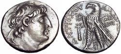 Ancient Coins - Seleucid Kings of Syria; Antiochus VII, 138-129.