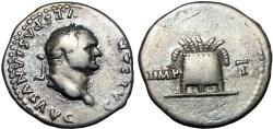 Ancient Coins - Vespasian. AD 69-79. AR Denarius .