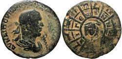 Ancient Coins - Valerian, AE32 of Aigeai, Cilicia, AD 253-260. Extremely Rare Zodiac isuue !!!