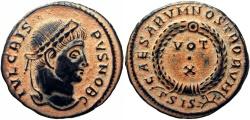 Ancient Coins - CRISPUS, Caesar. 317-326 AD.