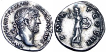 Hadrian. AD 117-138., Bold and stunning example !!!
