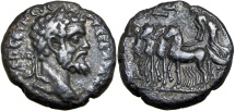 EGYPT, Alexandria. Septimius Severus. AD 193-211. Unique and unpublished for year 7 !!!!
