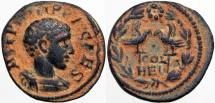 SYRIA, Coele-Syria. Heliopolis. Philip II. As Caesar, AD 244-247.