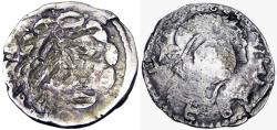 Ancient Coins - Judaea, Bar Kokhba Revolt. Silver Zuz , 132-135 CE.  the first of such we have seen.