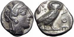 Ancient Coins - ATTICA, Athens. After 449 BC. AR Tetradrachm.