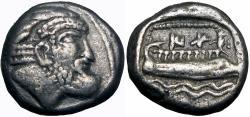 Ancient Coins - PHOENICIA, Arados. Circa 380-350 BC. AR Tetrobol.