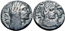 Ancient Coins - NABATAEA. Aretas IV, with Shaqilat. 9 BC-AD 40. dated year 49, the last year of Aretas rule, new discovery!!!