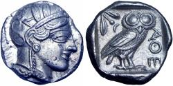 Ancient Coins - ATTICA, Athens. After 449 BC.