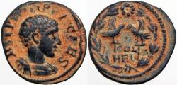 Ancient Coins - SYRIA, Coele-Syria. Heliopolis. Philip II. As Caesar, AD 244-247.