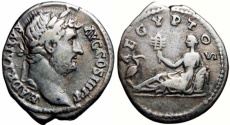 Ancient Coins - HADRIAN. AD 117-138., VISIT TO EGYPT.