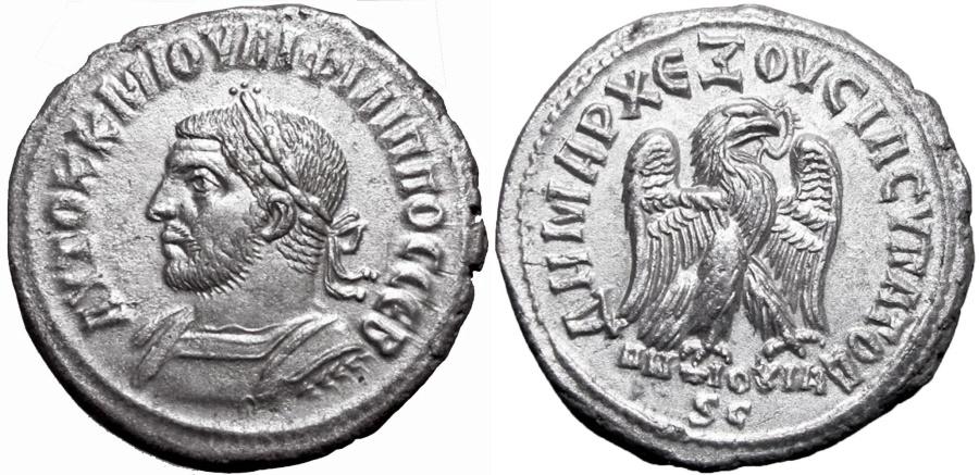 Ancient Coins - SYRIA, Seleucis and Pieria. Antioch. Philip I. AD 244-249.